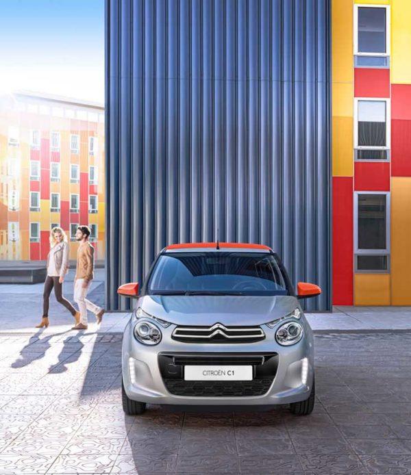 Renting Citroën C1