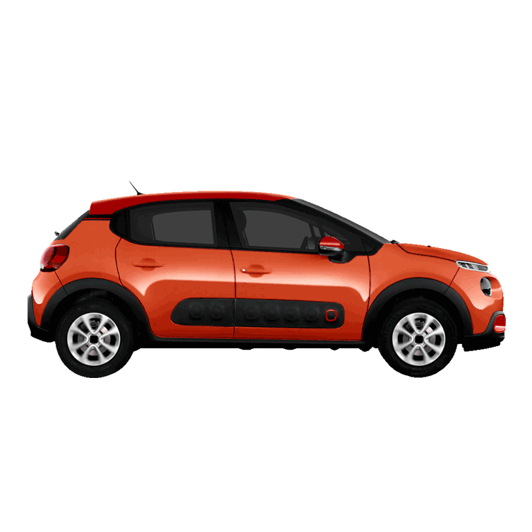 Renting Citroën C3