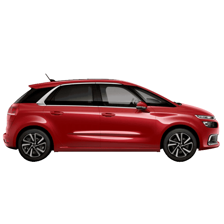 Renting Citroën C4 Spacetourer